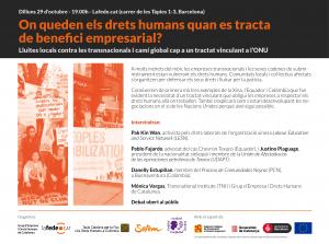 Barcelona: Tractat vinculant @ Lafede.cat