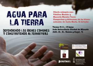 Alicante: Agua para la tierra @ Sede Universitaria Ciudad de Alicante