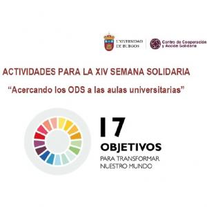 Burgos: XIV Semana Solidaria. DDHH y Acuerdos comerciales @ Aula B02 de la Facultad de Económicas