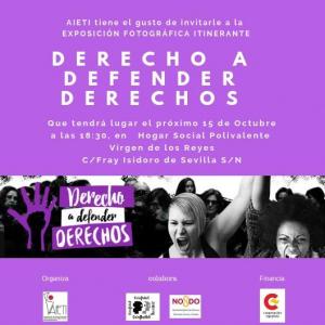 Sevilla: Derecho a Defender Derechos @ Hogar social polivalente Virgen de los Reyes