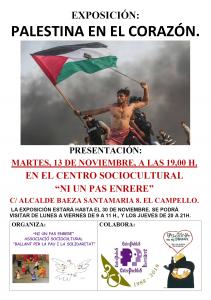 """El Campelo: Palestina en el corazón @ Centro sociocultural """"NI UN PAS ENRERE"""""""