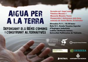Valencia: Aigua per a la terra @ Escuela Técnica Superior de Ingenieros Industriales