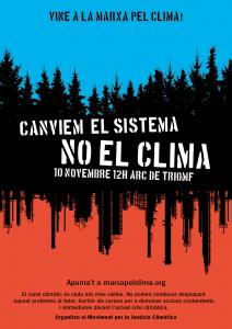 Barcelona: Marxa pel clima @ Arc de Triomf
