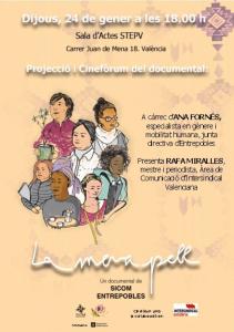 València: Projecció del documental La meva pell @ Sala d'actes STEPV