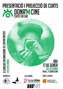 Barcelona: Presentació de Dona'm Cine a Ca la Dona @ Ca la Dona