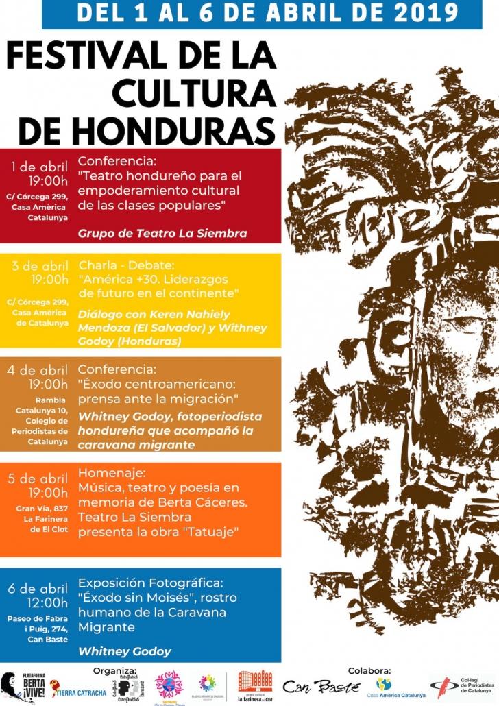 Barcelona: Festival de la Cultura de Honduras @ Can Baste