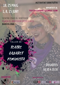 """Barcelona: Teatre cabaret """"Defensores i defensors de DDHH a Amèrica Llatina"""" @ Centre Cívic El Sortidor"""