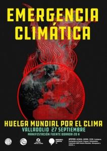 Valladolid: Huelga Mundial por el Clima (manifestación) @ Plaza de Fuente Dorada
