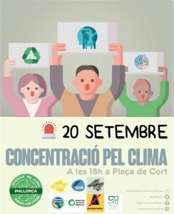 Palma de Mallorca: Concentració pel clima @ Plaça del Cort
