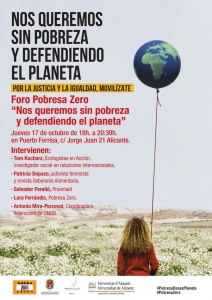 Alicante: Nos queremos sin pobreza y defendiendo al planeta @ Puerto Ferrisa