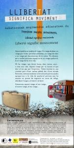 Barcelona: Exposició «Llibertat Significa Moviment» Jornades Conviure en la Diversitat @ Casal de Barri de Trinitat Nova – SomLaPera