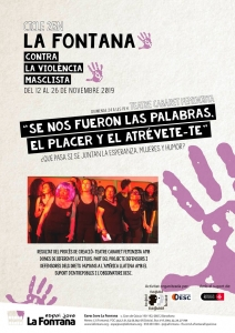 "Barcelona: ""Teatre Cabaret Feminista! @ Espai Jove la Fontana"