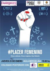 Valladolid: Proyección de Placer Femenino @ Aula Mergelina
