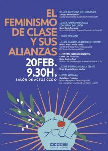 Alicante: El feminismo de clase y sus alianzas @ Salón de actos de CCOO Alacantí Marines