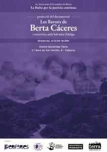 València: Projecció «Les llavors de Berta Cáceres» @ Centre Social-bar Terra