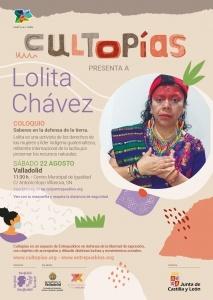 """Valladolid. Cultopías presenta """"Saberes en defensa de la tierra"""" con Lolita Chávez @ Centro Municipal de Igualdad"""