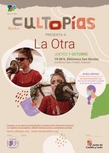 Valladolid. Cultopías presenta a La Otra @ Biblioteca de Castilla y León