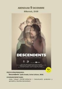 """Bilbao: Proyección """"Descendents"""" @ Bilborock"""