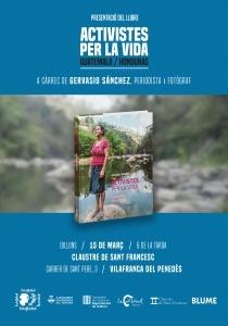 """Presentació del llibre:  """"Activistes per la vida"""" de Gervasio Sánchez @ Claustre de Sant Francesc de Vilafranca"""