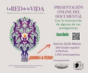 Presentación online: LA RED DE LA VIDA