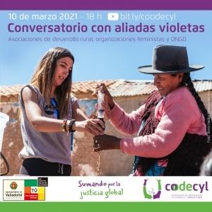 Castilla y León: Conversatorio Aliadas Violetas