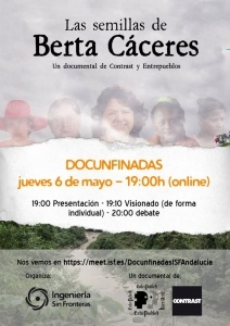 """Cinefórum online """"Las semillas de Berta Cáceres"""""""