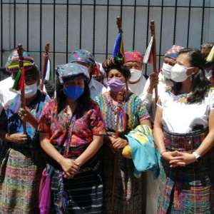 Mujeres indígenas CUCG