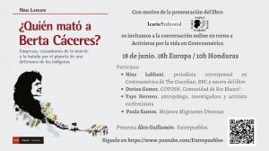 Presentación del libro ¿Quién mató a Berta Cáceres?