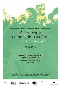 Presentació del llibre : Pactes verds en temps de pandèmies @ Ca la Revolta